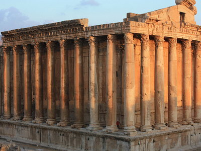 Temple Of Bacchus - Baalbek - Lebanon