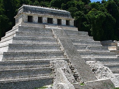 Temple Of The Inscriptions - Chiapas - Mexico