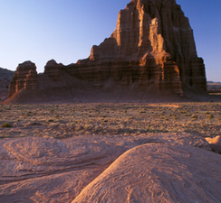 Cathedral Valley Sculpted Monoliths