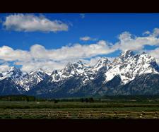 Teton Range Winter View