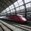 Thalys High-Speed Train At Amsterdam Centraal