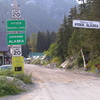 The Border Between Stewart British Columbia And Hyder As Seen Fr