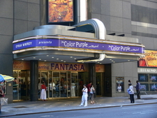 The Broadway Theatre Entrance