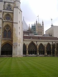 The Cloisters Of Westminster Abbey