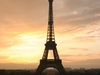 The Eiffel Tower At Sunrise From The Trocadero