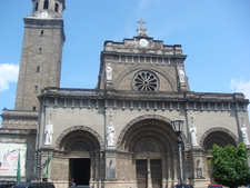 The Facade Of The Cathedral