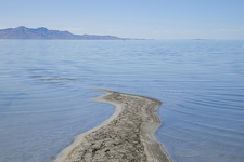 The Largest Salt Water Lake