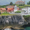 The Llanes Ports Lighthouse In Asturias.