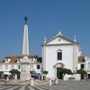 Main Square In Vila Real De Santo Antonio