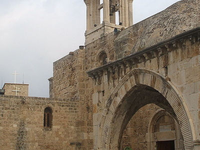 The Medieval Church Of St. John In Byblos