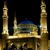 The Mohammad Al Amin Mosque At Night