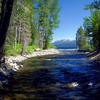 The Mouth Of Ward Creek On Lake Tahoe