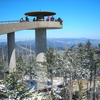 The Observation Tower At Clingmans Dome