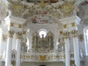 The Rococo Interior Of The Church Is Famous For Its Frothy Tromp