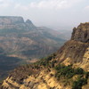 The Sahyadri Mountain Range