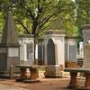 The Tombstones Of Taman Prasasti Museum