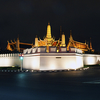 The View Of The Grand Palace At Night