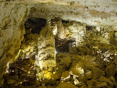 Thien Duong Cave View