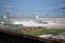 Three Gorges Dam Over Yangtze River
