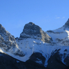 Three Sisters Rockey Mountains Canmore