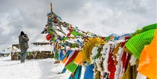Tibetan Flags - Himalayas