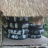 Tire Tubes At Namtok Kaeng Song