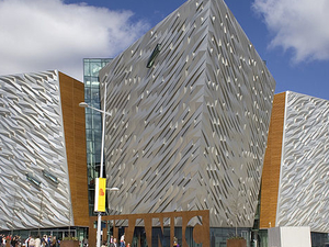 Titanic Belfast Entrance Ticket: Titanic Visitor Experience