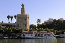Torre Del Oro & Riverboat - Seville Andalusia