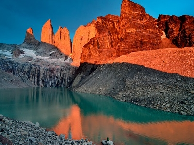 Torres Del Paine National Park Sunset