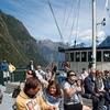 Tourist Group Cruising Fiordland - Southland NZ