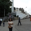 Tourist Posing Outside Birla Mandir