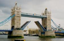 Bridge Open To Admit A Boat