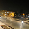 Town Center Of Negotin At Night