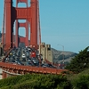 Traffic On SF Golden Gate Bridge