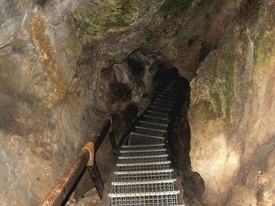 Trail System In Tropfsteinhöhle Alland, Lower Austria