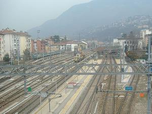 Trento Railway Station