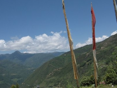 View From Near Trongsa