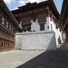Interior Courtyard In Trongsa Dzong