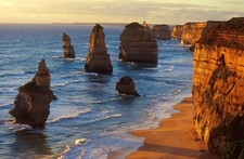 Twelve Apostles Along Great Ocean Rd - Australia