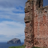 The Ruins Of The Douglas Tower, With The Bass Rock Behind