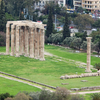 Temple Of Zeus From Athens Acropolis