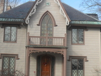 The Gothic House