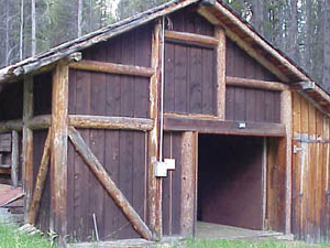 Timber Creek Road Camp Barn