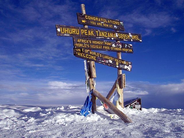 Climbing Mount Kilimanjaro Photos