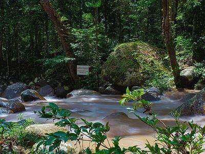 Ulu Kenas River At Kuala Kangsar
