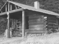Upper Logging Lake Snowshoe Cabin