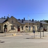 Vaasa Railway Station In Finland
