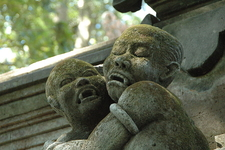 """Vampire Children"" Statuary"