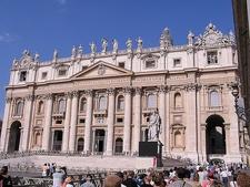 Vatican Palace Facade