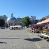Vendor Stalls At Turku Market Square